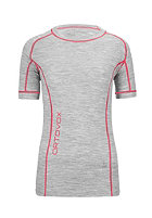 ORTOVOX Womens 185 Short Sleeve grey blend