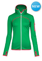 ORTOVOX Womens Fleece Hoody crazy green