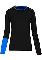 ORTOVOX Womens Rock�N�Wool Longsleeve black raven