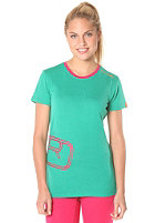 ORTOVOX Womens Rock�N�Wool S/S T-Shirt crazy green