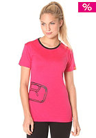 ORTOVOX Womens Rock�N�Wool S/S T-Shirt very berry