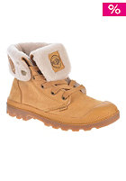 PALLADIUM Womens Baggy Lea S amber gold/gum