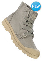 PALLADIUM Womens Pampa Hi concrete/putty