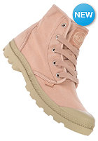 PALLADIUM Womens Pampa Hi salmon pink/putty