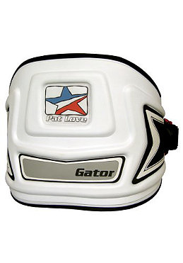 PAT LOVE Windsurf Harness Gator low contour Waist white