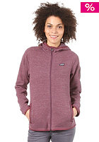 PATAGONIA Womens Better Sweat Hooded Zip Sweat tyrian purple