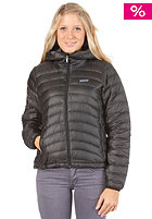 PATAGONIA Womens Down Sweat Full Zip Hooded Jacket black