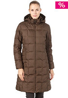 PATAGONIA Womens Down With It Parka dark walnut