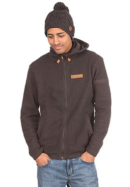 PEAK PERFORMANCE Corbet Hooded Zip Sweat licorice