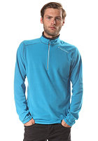 PEAK PERFORMANCE Lt Micro Fleece Zip Sweat mosaic blue