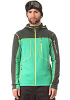 PEAK PERFORMANCE Trigger Hooded Softshell Jacket sonic green