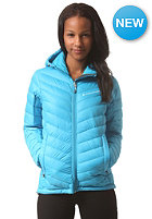 PEAK PERFORMANCE Womens Frost Hooded Jacket turquoise