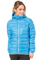 PEAK PERFORMANCE Womens Helium Hooded Jacket blue sea
