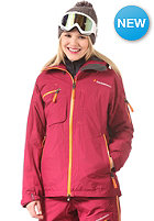 PEAK PERFORMANCE Womens Hellilo Jacket dk passion