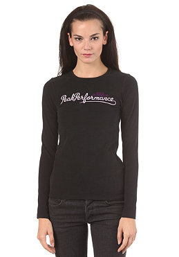 PEAK PERFORMANCE Womens Logo C S/S T-Shirt black