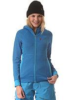 PEAK PERFORMANCE Womens Montoya Hooded Sweat Jacket deep blue