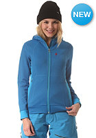 PEAK PERFORMANCE Womens Montoya Hooded Sweat Jacket deep blue