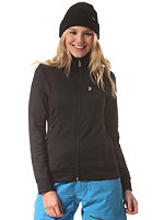 PEAK PERFORMANCE Womens Montoya Sweat Zip Jacket black