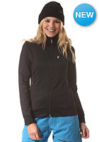 PEAK PERFORMANCE Womens Montoya Sweat Zip Jacket black