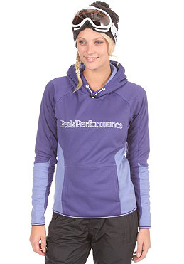 PEAK PERFORMANCE Womens Sunny Hooded Sweat mulberry