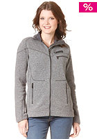 PEAK PERFORMANCE Womens Wrang Zip Sweat grey melange