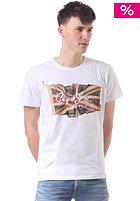 PEPE JEANS Flag Logo S/S T-Shirt white