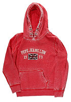 PEPE JEANS Kids Aric Hooded Sweat red