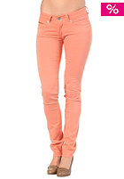 PEPE JEANS New Broke Pants stretch sateen dark peach