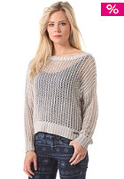 PEPE JEANS Womens Marlow Knit Sweat pearl grey