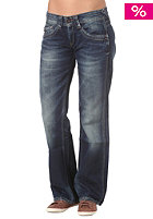 PEPE JEANS Womens Olympia Pants 12oz glory left hand dark denim