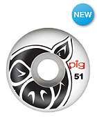 PIG Wheels Head Naturals 51mm one colour