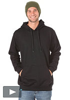 PLANET SPORTS Blank Hooded Sweat black
