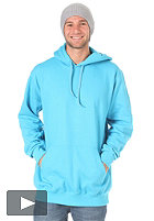 PLANET SPORTS Blank Hooded Sweat cyan