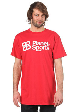 PLANET SPORTS Corporate Logo S/S Slimfit T-Shirt red/white