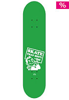 PLANET SPORTS Dude green/white Deck 7.75
