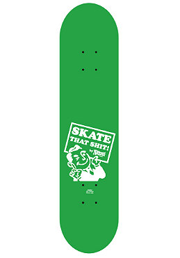 PLANET SPORTS Dude green/white Deck 8.125
