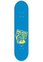 PLANET SPORTS Dude royal/yellow Deck 7.625