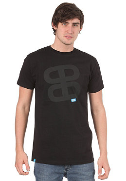 PLANET SPORTS Icon Print S/S Slimfit T-Shirt black/black