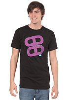 PLANET SPORTS Icon Print S/S Slimfit T-Shirt black/purple