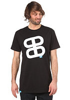 PLANET SPORTS Icon Print S/S Slimfit T-Shirt black/white