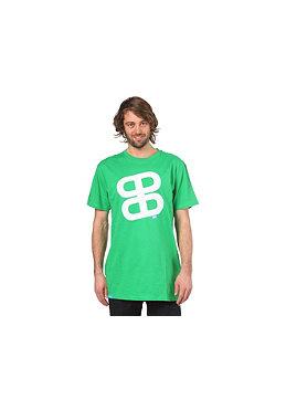 PLANET SPORTS Icon Print S/S Slimfit T-Shirt kelly green/white