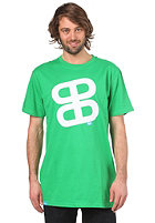 PLANET SPORTS Icon Print S/S Slimfit T-Shirt kelly green/white