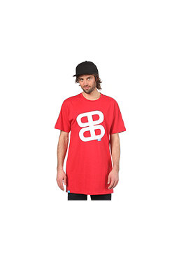 PLANET SPORTS Icon Print S/S Slimfit T-Shirt red/white