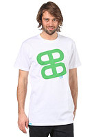 PLANET SPORTS Icon Print S/S Slimfit T-Shirt white/kelly green