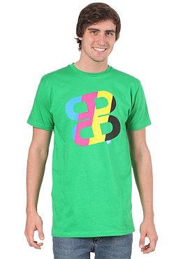 PLANET SPORTS Icon Print S/S Slimfit T-Shirt kelly green/CMYK