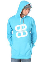 PLANET SPORTS Logo Hooded Sweat cyan