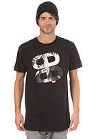 PLANET SPORTS MG Photo Icon S/S Slimfit T-Shirt solid black 