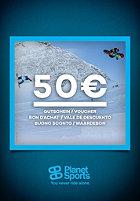 PLANET SPORTS Buono Sconto 50 Euro