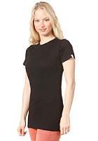 PLANET SPORTS Womens Blank S/S T-Shirt black