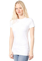 PLANET SPORTS Womens Blank S/S T-Shirt white